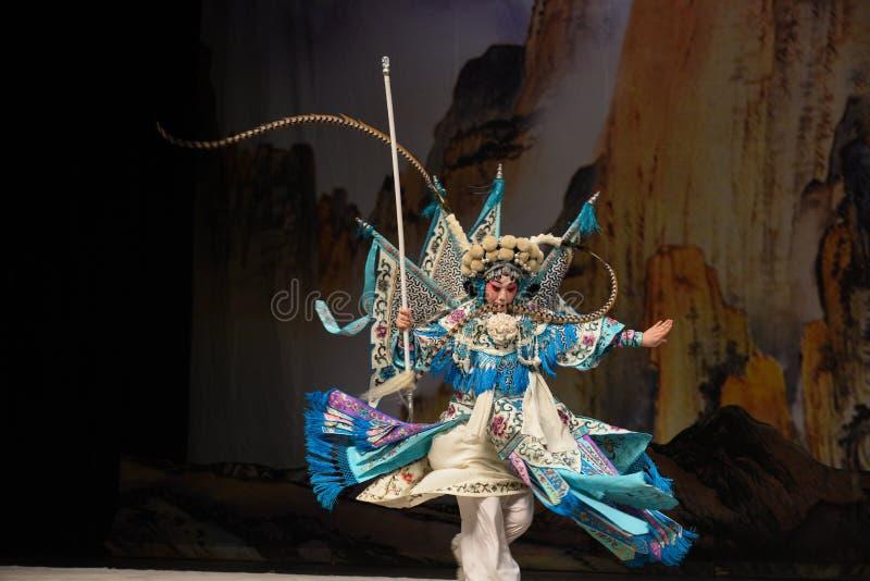 """杨Family†的庄严女性将军北京Opera""""妇女将军 免版税图库摄影"""