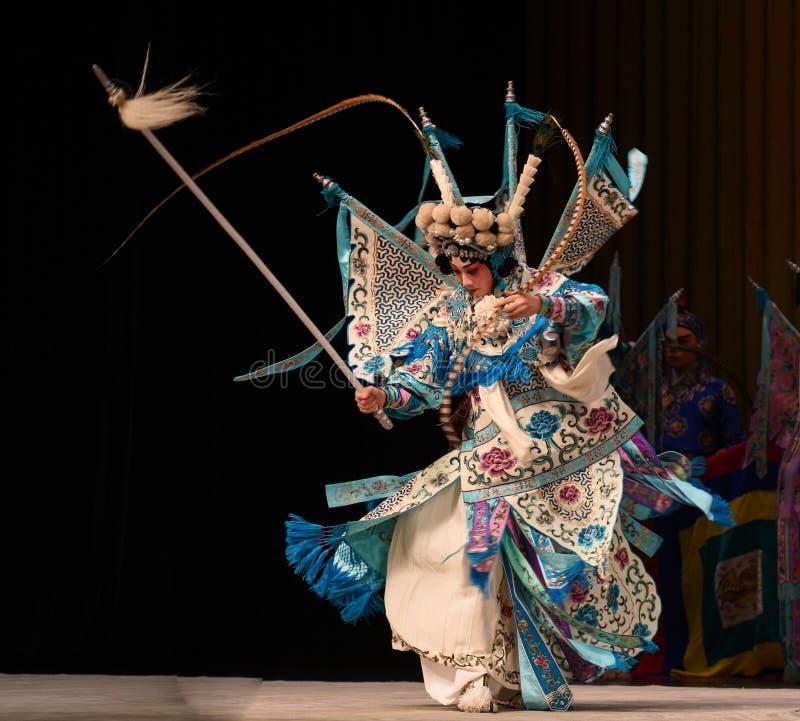 """杨Family†的高速自转女性将军北京Opera""""妇女将军 库存图片"""