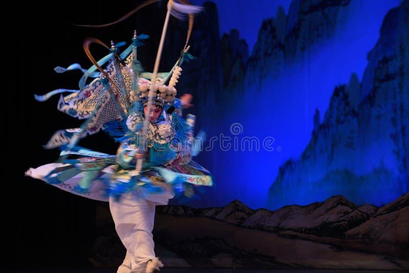 """杨Family†的高速自转女性将军北京Opera""""妇女将军 库存照片"""