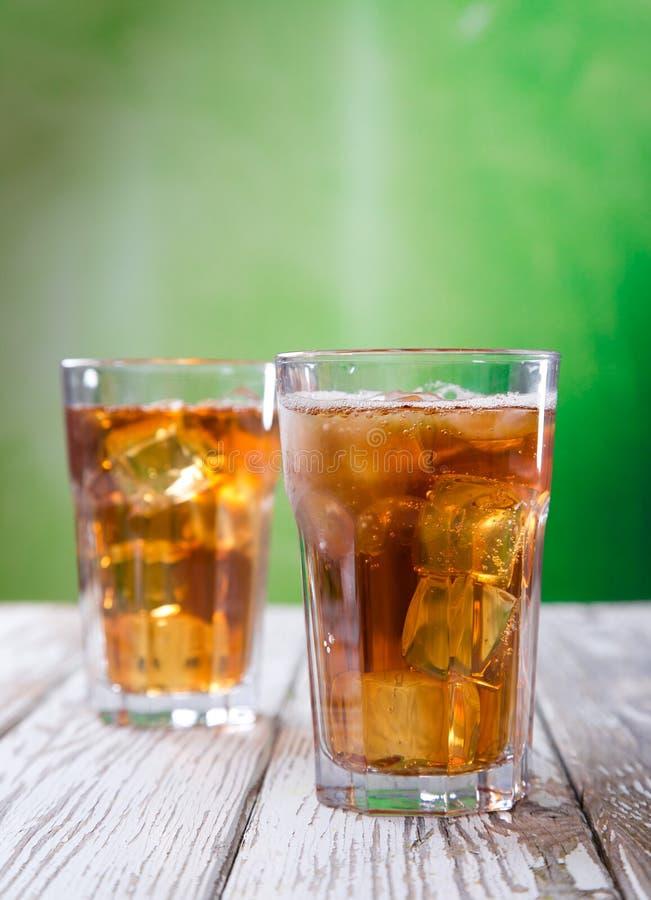 杯冰茶 免版税库存照片