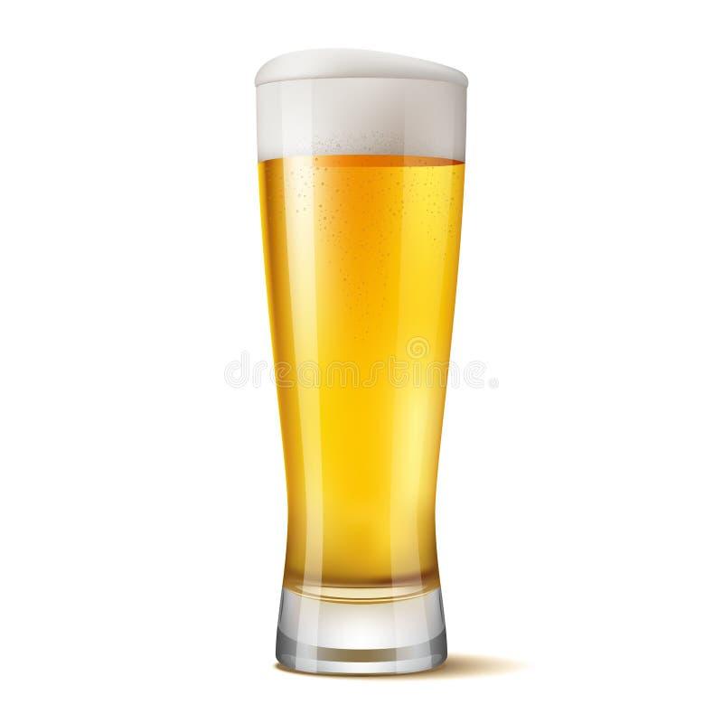杯啤酒 库存例证