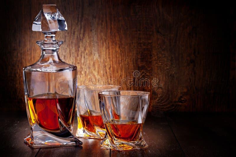 杯苏格兰威士忌酒 库存照片