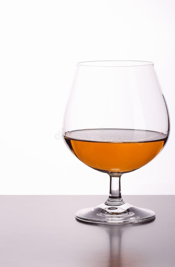 杯白兰地酒 库存照片