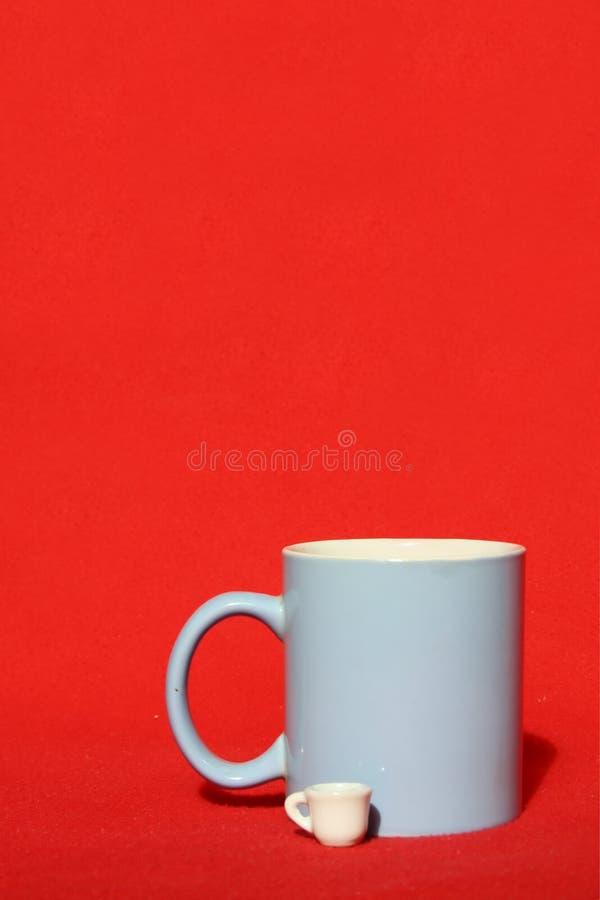 杯子二 免版税库存图片