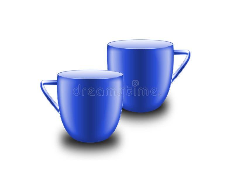 杯子二 免版税库存照片