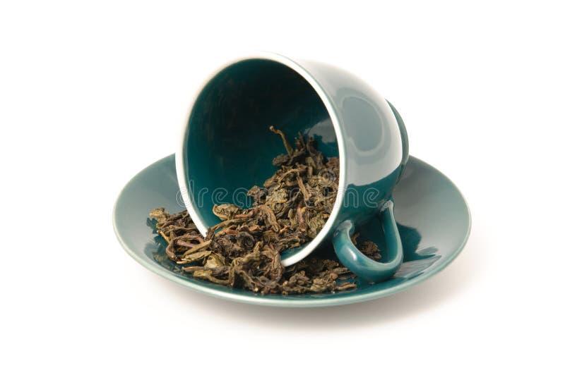 杯子原始的茶 免版税库存照片