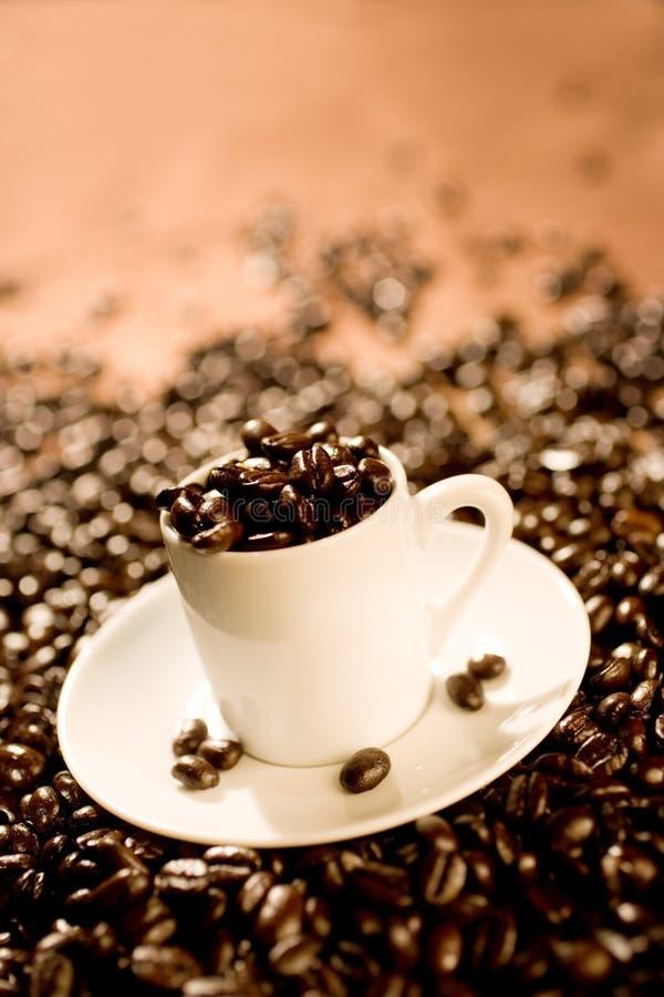 杯子浓咖啡 免版税图库摄影
