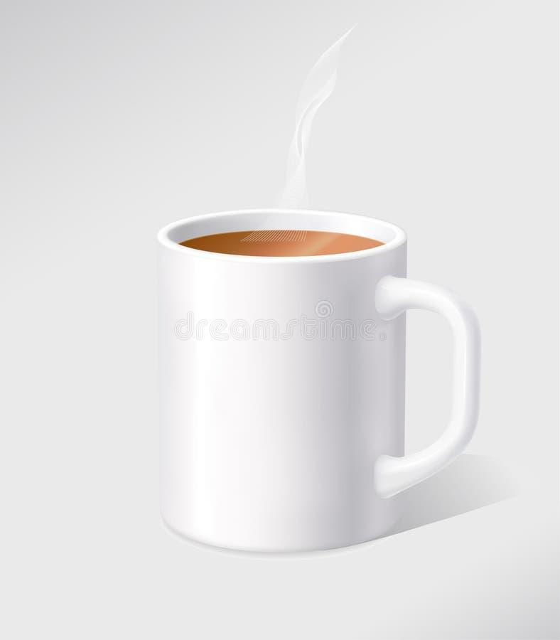 杯子白色 图库摄影