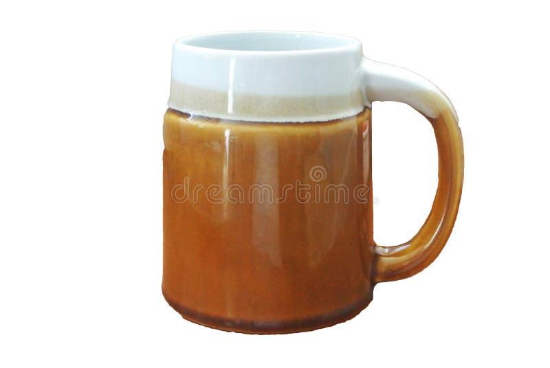 杯子的射击 免版税库存照片