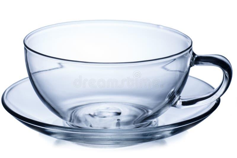 杯子空的茶 库存照片