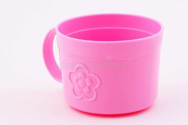 杯子粉红色 免版税图库摄影