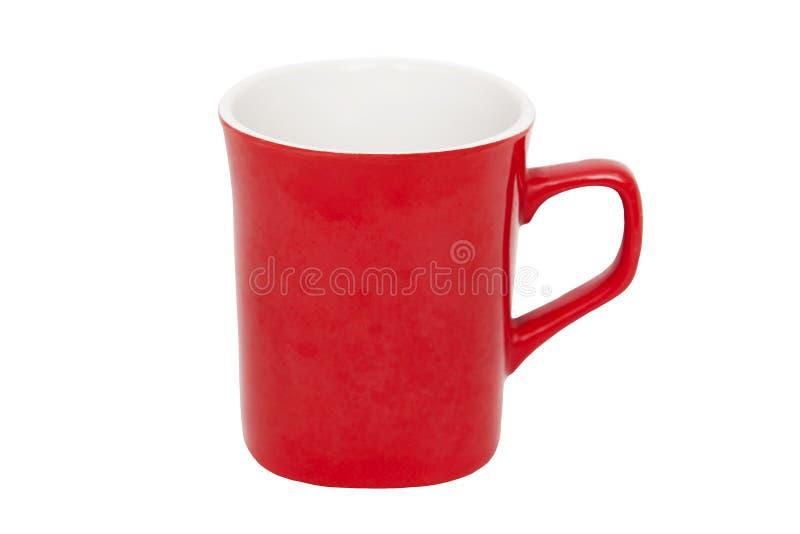 杯子红色 图库摄影