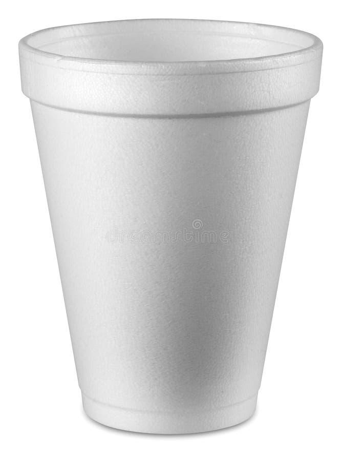 杯子聚苯乙烯泡沫塑料 图库摄影