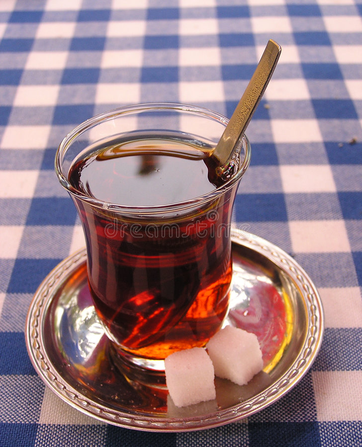 杯子茶 图库摄影