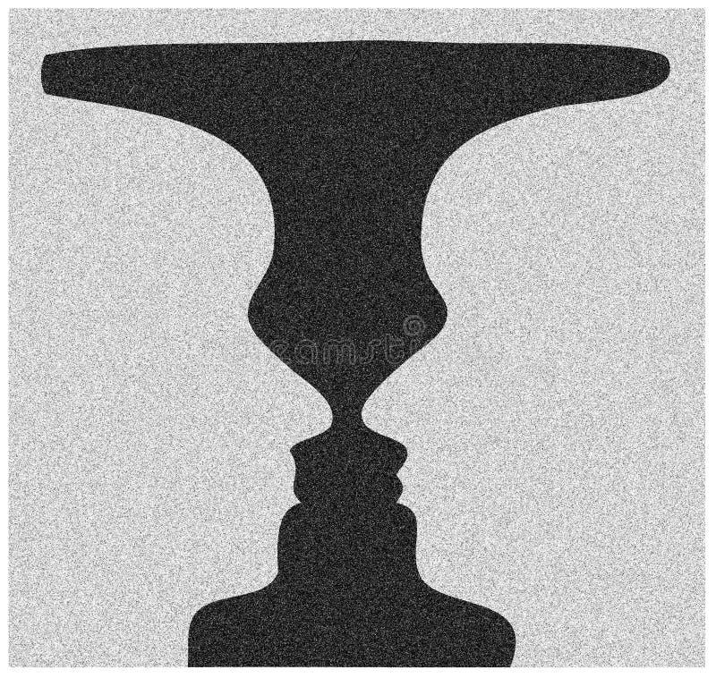杯子rubin 免版税图库摄影