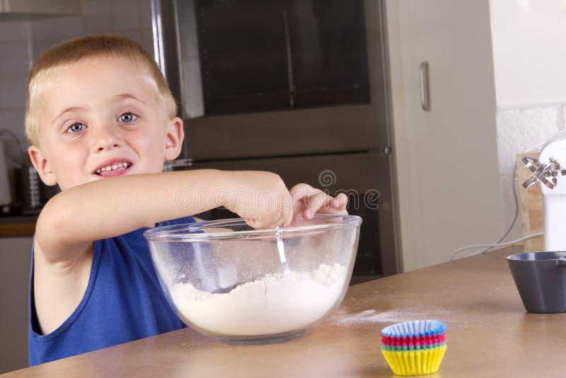 杯形蛋糕做 免版税图库摄影