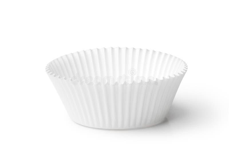 杯形蛋糕盒 免版税库存照片