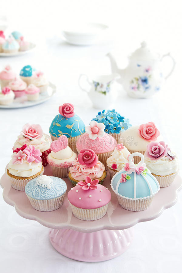 杯形蛋糕 库存照片