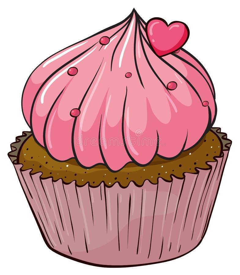 杯形蛋糕 向量例证
