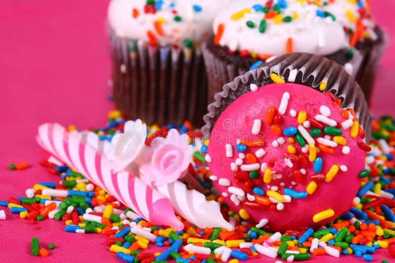 杯形蛋糕cuties 图库摄影