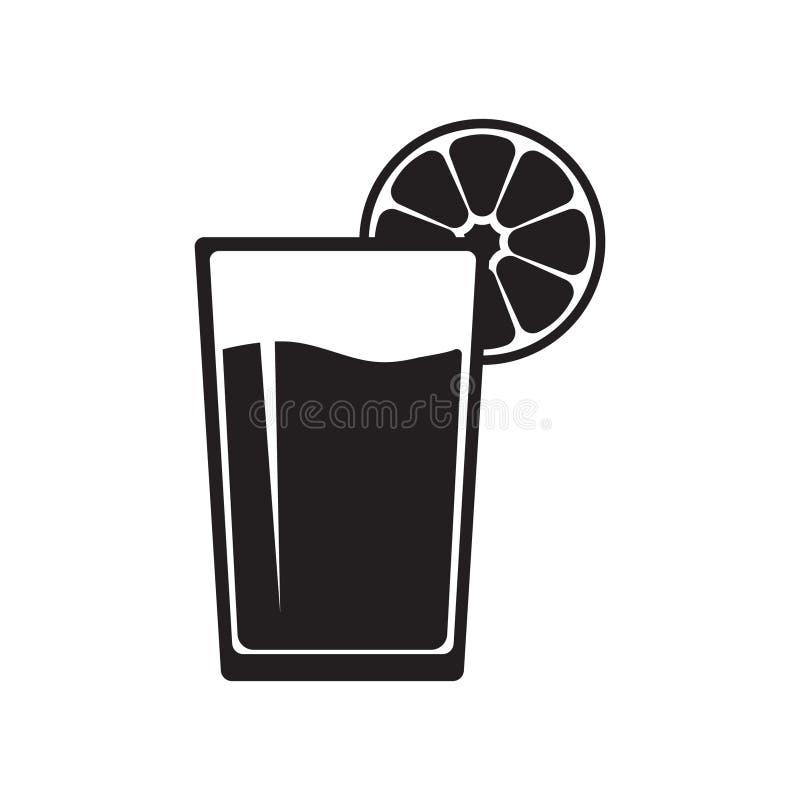 杯汁液象 向量例证