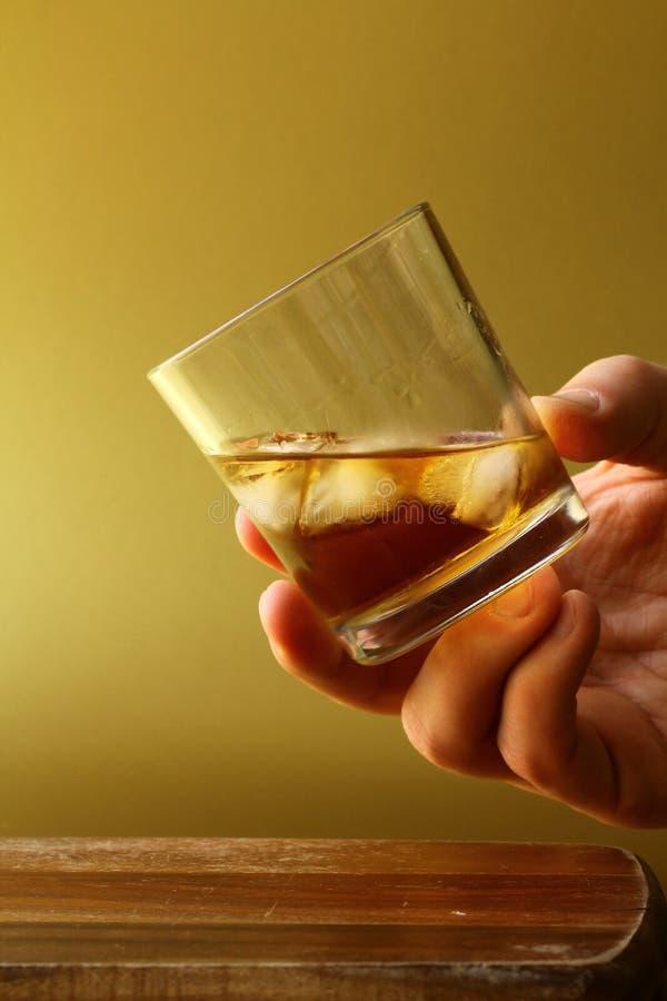 杯苏格兰威士忌酒 库存图片