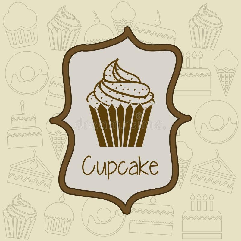 Download 杯蛋糕 向量例证. 插画 包括有 餐馆, 多福饼, 装填, 片式, 烘烤, 喜悦, 面团, 松饼, 图标 - 30333825