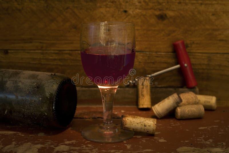 杯酒 库存图片