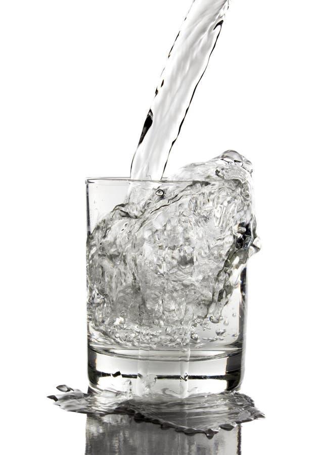 杯水 库存图片