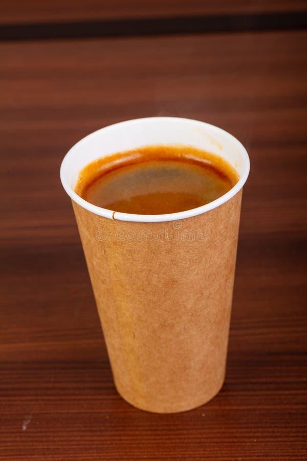 杯Americano咖啡 库存图片