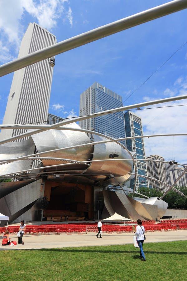 芝加哥地标 库存照片