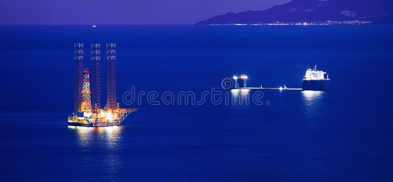 杰克船具和货船 免版税图库摄影