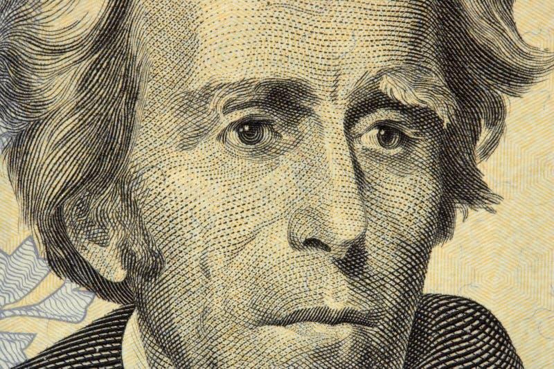 杰克逊总统 免版税库存照片