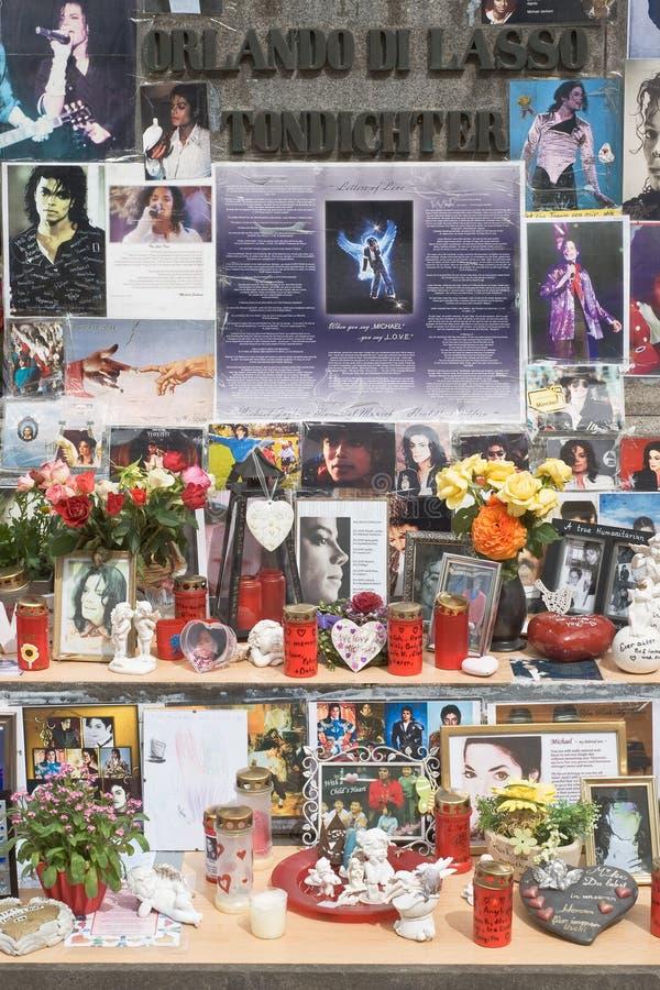 杰克逊纪念品迈克尔 免版税库存照片
