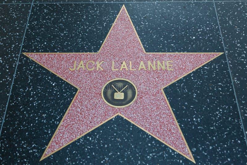 杰克Lalanne好莱坞明星 免版税库存照片