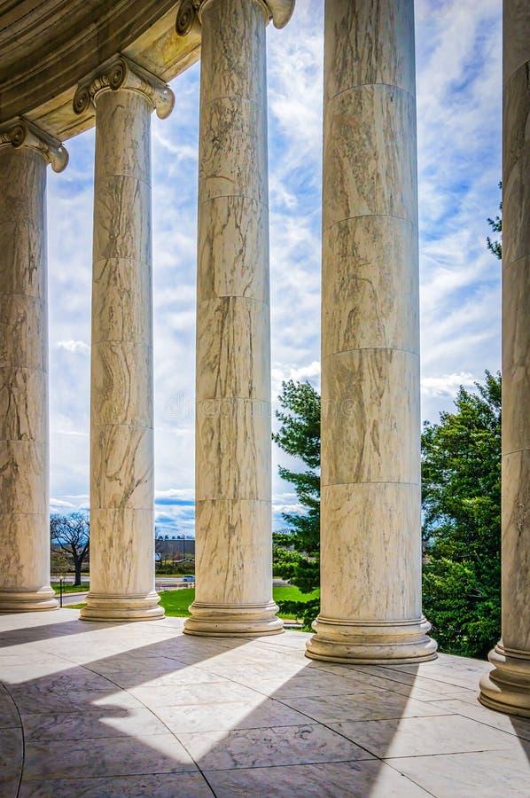 杰斐逊专栏 免版税图库摄影