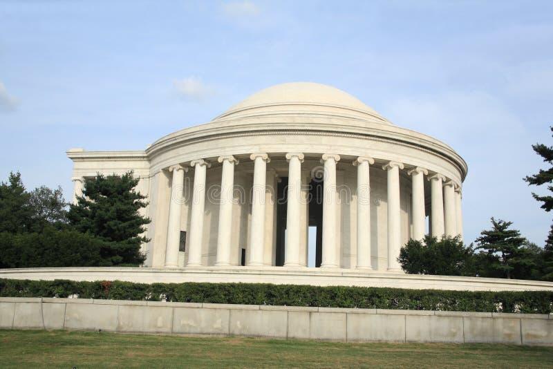 杰斐逊纪念品托马斯 免版税图库摄影