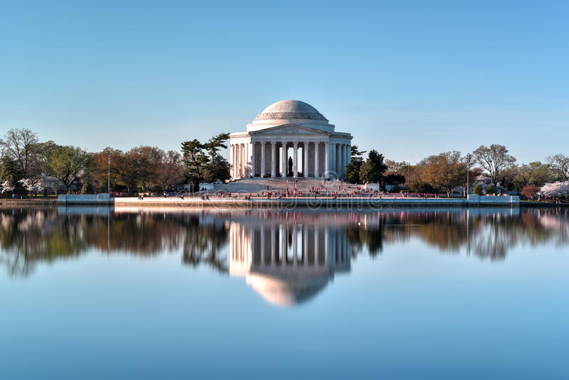 杰斐逊纪念品-华盛顿D C 库存图片