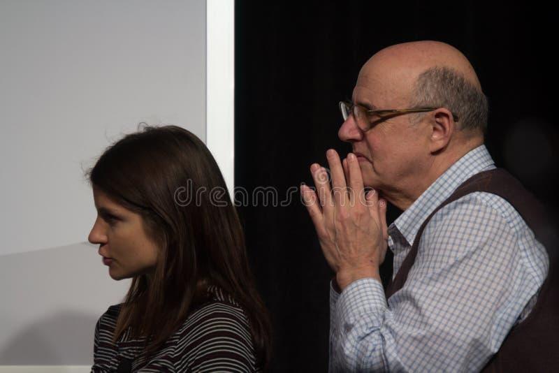 杰费Tambor的SXSW的演员的车间2014年 免版税库存图片