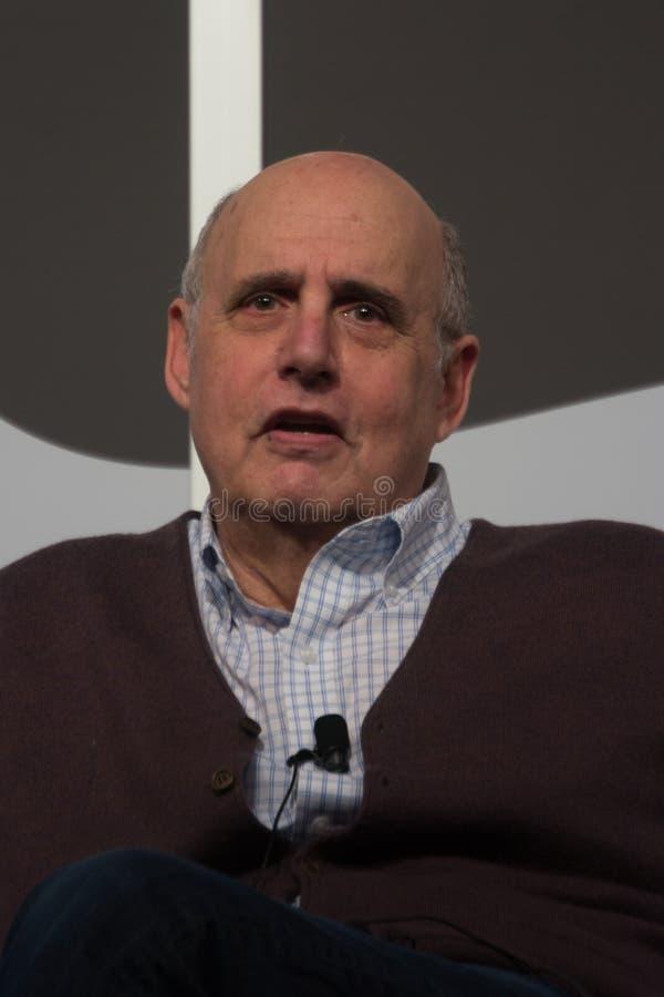 杰费Tambors SXSW的演员车间2014年 免版税库存图片