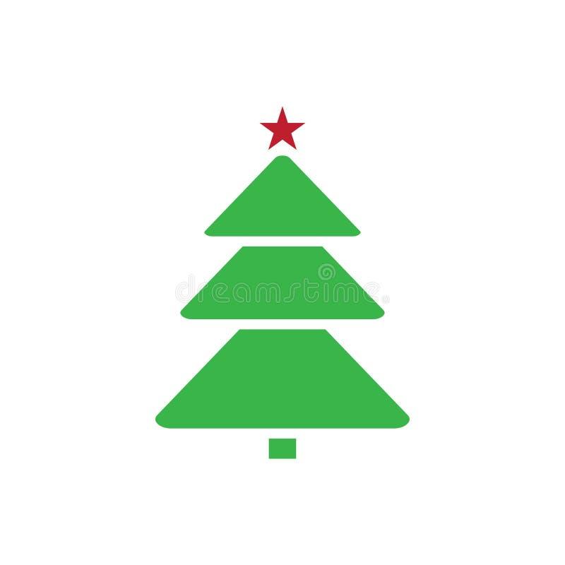 松树象图形设计模板传染媒介例证 库存例证