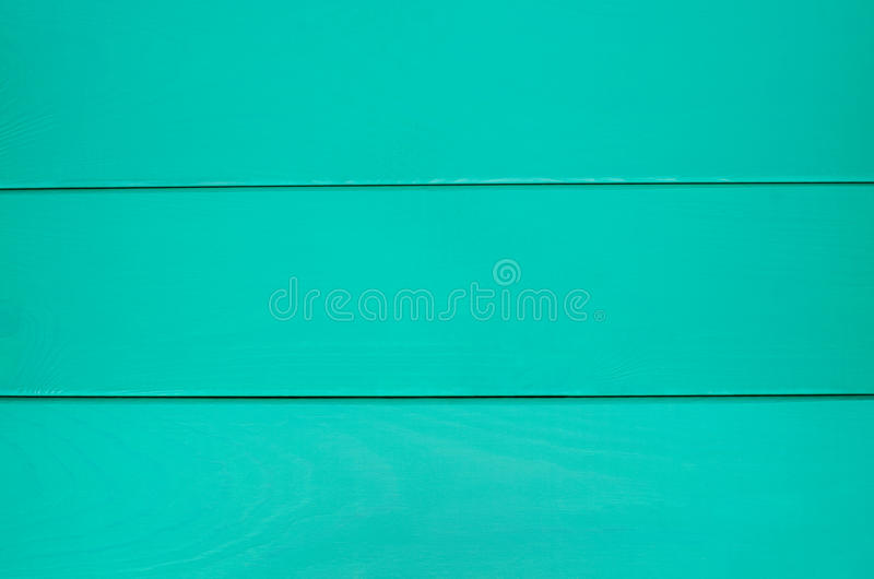 绿松石木纹理背景 免版税库存照片