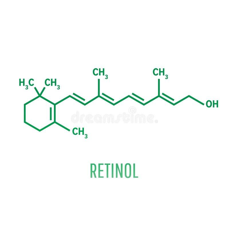 松香油,维生素A 重要对视觉和骨头成长、健康皮肤和头发 皇族释放例证