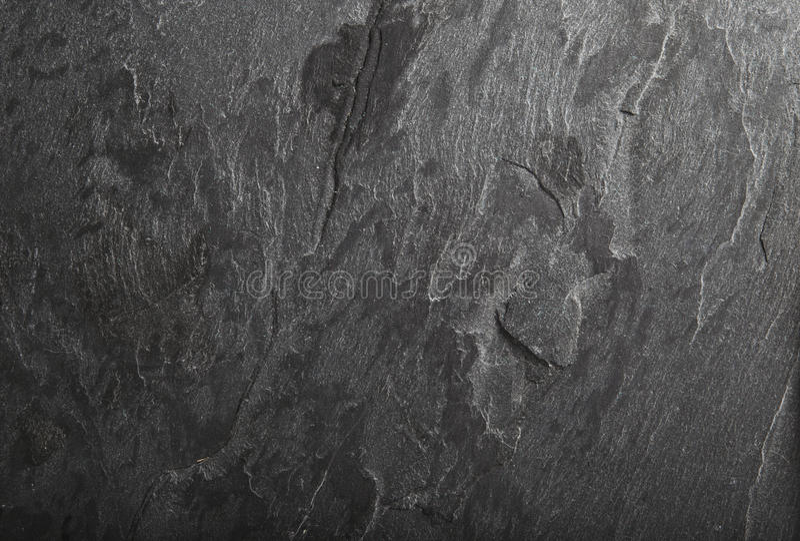 黑板岩岩石背景纹理 库存图片