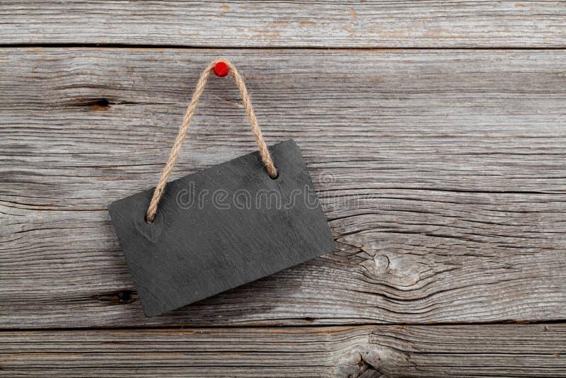 板岩黑板  免版税图库摄影