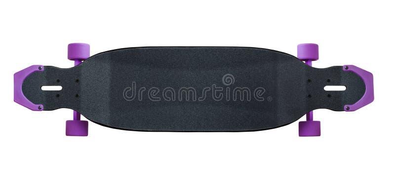 滑板或longboard 库存图片