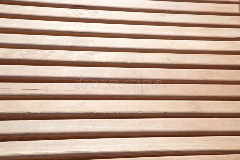 板材的看法从浅褐色的在将来 库存图片