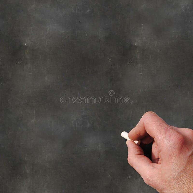 黑板空白支票例证更多我的请投资组合文教用品 免版税库存图片