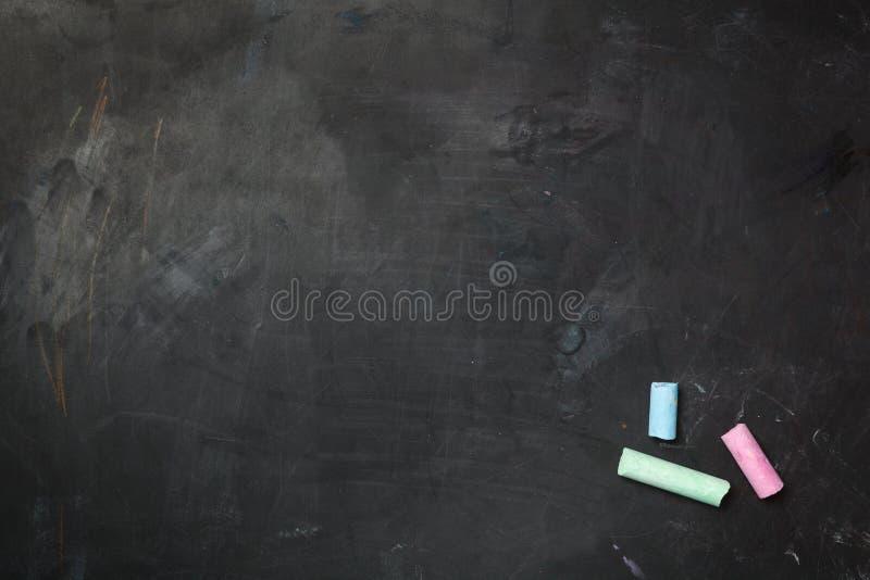 黑板纹理 免版税库存图片