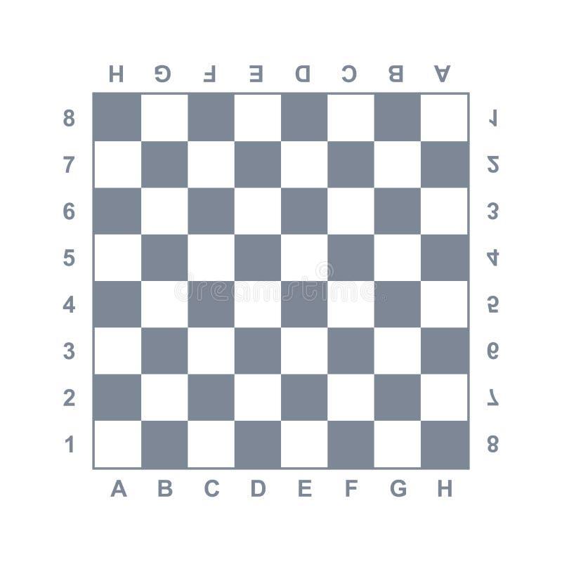 板,棋,棋盘,比赛象 传染媒介例证,平的设计 库存例证